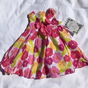 Iris and ivy Nordstrom 12 month dress set